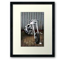 Dazzling White Framed Print