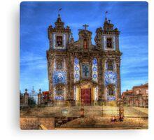 Santo Ildefonso Church, Porto Canvas Print