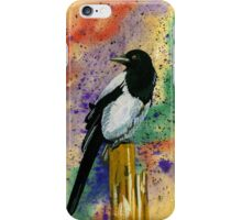 The  magpie iPhone Case/Skin
