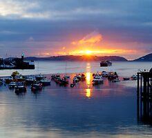 Sunrise over Herm by herbiefraser