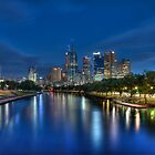Dawn Over Melbourne by Dean Prowd Panoramic Photography