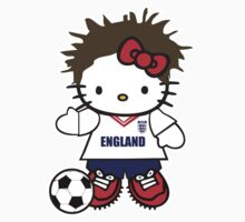 Hello Kitty England Soccer by daleos