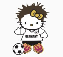 Hello Kitty Germany Soccer by daleos