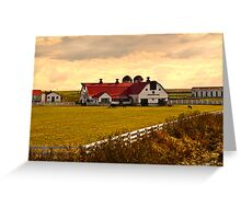 KENTUCKY FARM Greeting Card