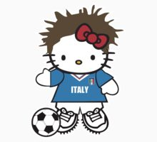 Hello Kitty Italy Soccer by daleos
