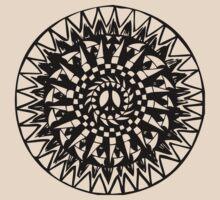 Peace Mandala by Niko Hoekzema