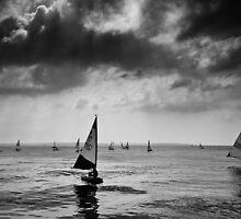 Solent Sailing by Richard Hepworth
