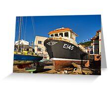 Intrepid ~ Lyme Regis Greeting Card