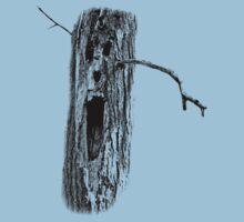 Halloween Spooky Haunted Tree. Digital Halloween Engraving Image Kids Tee
