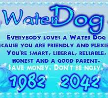 1982 2042 Chinese zodiac Water Dog by Valxart
