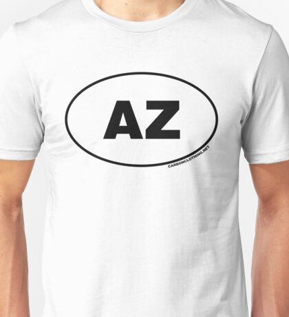 Arizona AZ  Euro Oval Sticker Unisex T-Shirt