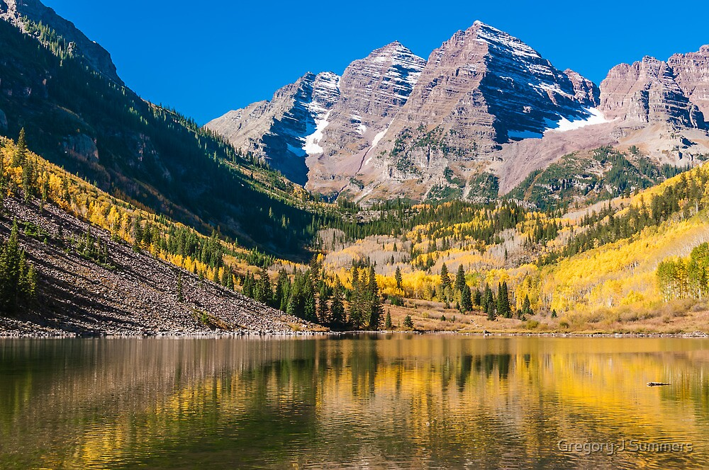 Colorado Maroon And Gold by nikongreg