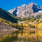 Colorado Maroon And Gold by Gregory J Summers