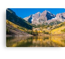 Colorado Maroon And Gold Canvas Print