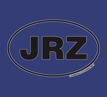 JRZ New Jersey Euro Oval Sticker by CarbonClothing