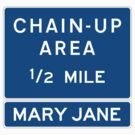 Chain Up! - Winter Park/Mary Jane by IntWanderer