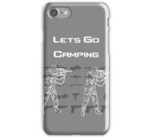Lets Go Camping iPhone Case/Skin
