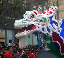 Chinese Dragon - Corso Wong by Luis Fernando Del Águila Mejía
