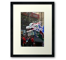 Chinese Dragon - Corso Wong Framed Print