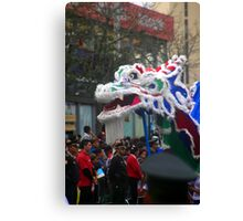 Chinese Dragon - Corso Wong Canvas Print