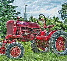 McCORMICK FARMALL CUB 1952 by Richard Bean