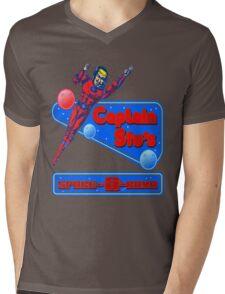Captain Stu Space-O-Rama Mens V-Neck T-Shirt