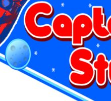 Captain Stu Space-O-Rama Sticker