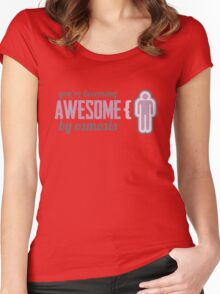 Your Becoming Awesome by Osmosis Women's Fitted Scoop T-Shirt