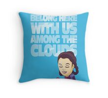 Among the Clouds (Star Wars)  Throw Pillow