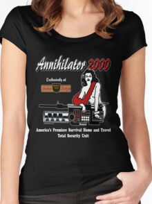 Annihilator 2000 Beverly Hills Survival Boutique Women's Fitted Scoop T-Shirt