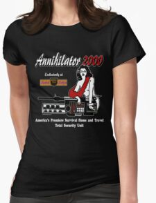 Annihilator 2000 Beverly Hills Survival Boutique Womens Fitted T-Shirt