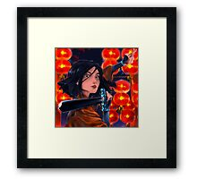 Mulan. Framed Print