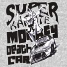 Super Karate Monkey Death Car by kaptainmyke