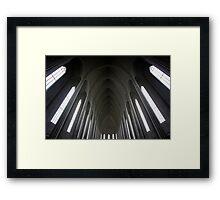 Hallgrímskirkja Framed Print