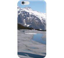 Bachalpesee with Fiescherhornen in the background, Switzerland iPhone Case/Skin