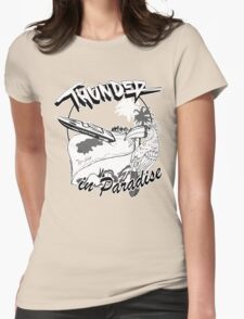 Thunder in Paradise Womens Fitted T-Shirt