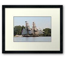 U.S. Brig Niagara Framed Print