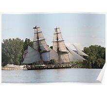 U.S. Brig Niagara Poster
