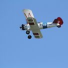 U.S. Navy Stearman Bi-plane by Karl R. Martin