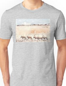 Gemsbuck in the Kalahari Unisex T-Shirt
