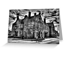 Coach And Horses Greeting Card
