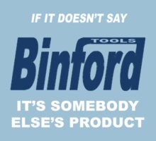 Binford Tools by kaptainmyke