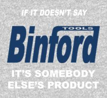 Binford Tools Kids Clothes