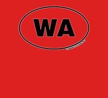 Washington WA Euro Oval Sticker Unisex T-Shirt