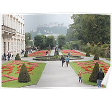 A postcard view (Salzburg, Austria) Poster