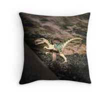 Still-still on the prowl Throw Pillow