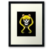 Moon Misfit Framed Print