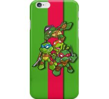 teenage mutant ninja turtles!!!!!!! iPhone Case/Skin