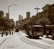 Tram and tramway by zumi
