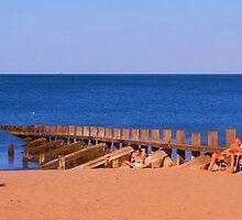 Porty Beach by Nik Watt